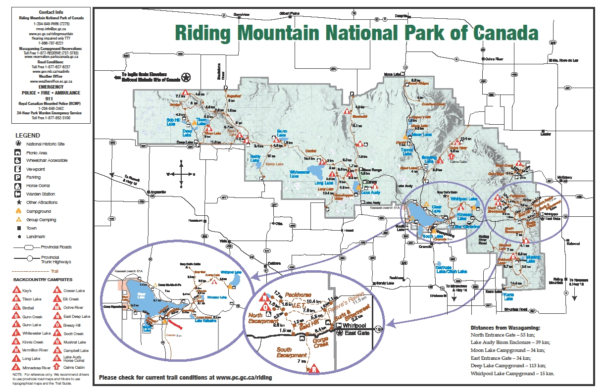 The Trails of Riding Mountain National Park | Anywhere but home